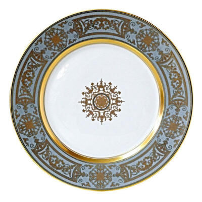 AUX ROIS/FLANEL DINNER PLATE