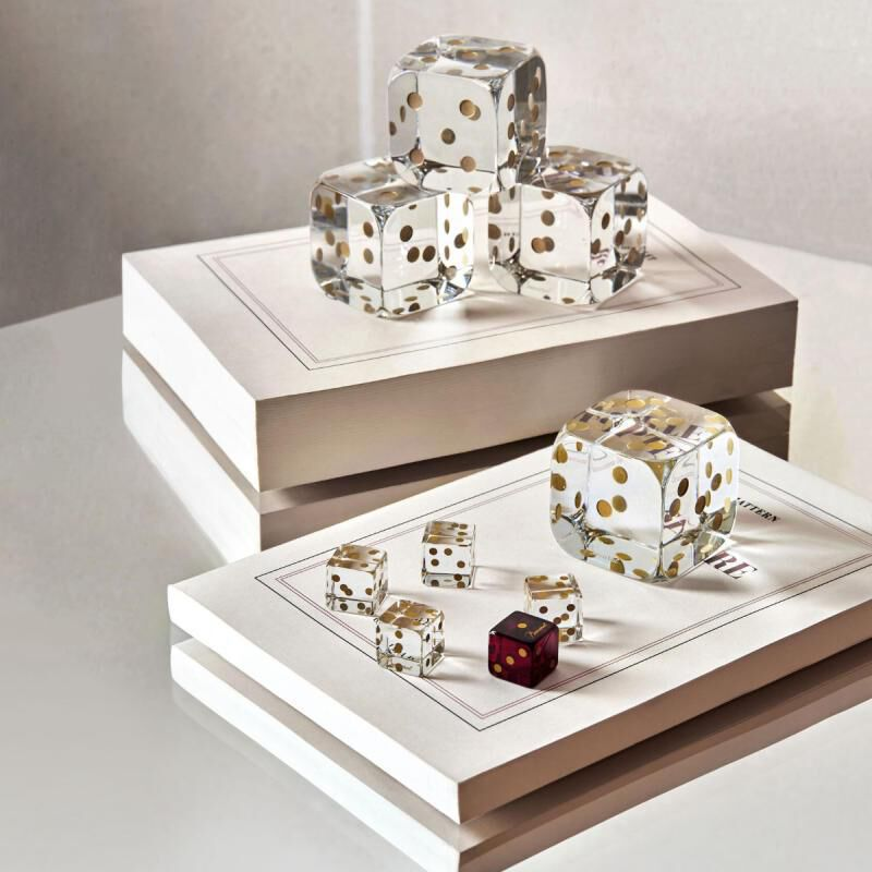 DICES SET OF 5, large