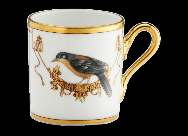 Espresso Cup Volière Cou Jaune, large