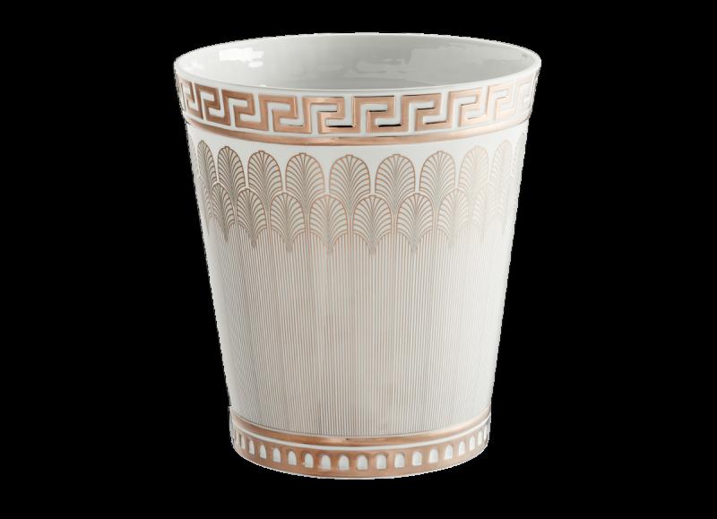Large Vase Magnifico Platino, large