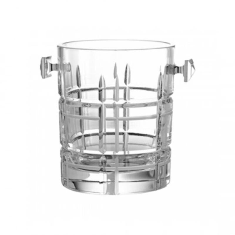 Scottish-Crystal Ice Bucket, large