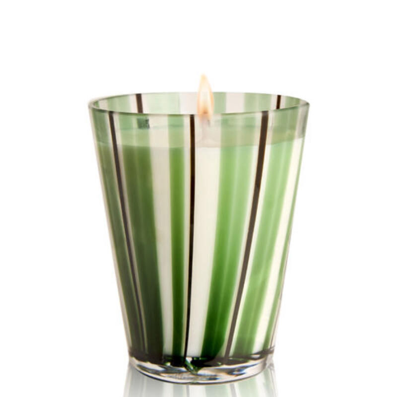 MURANO GLASS CANDLE - BENZOIN, large