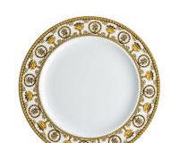 Versace Baroque Bianco Plate, small