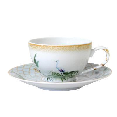 TROPIQUES TEA CUP & SAUCER BOULE S