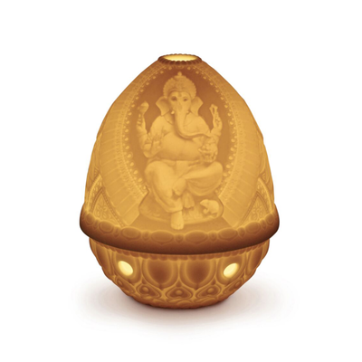 Lithophane Votive Light - Ganesha