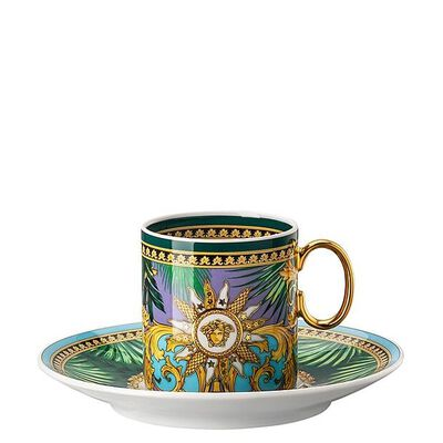 Espresso Cup & Saucer Jungle Animalier
