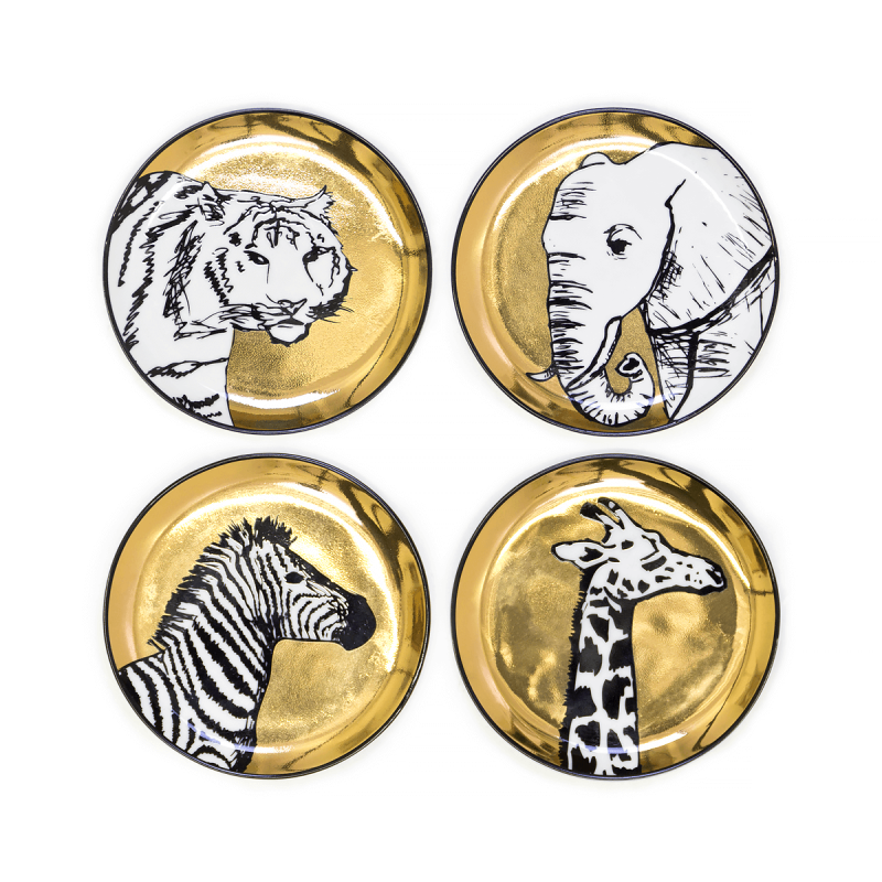Animalia Coaster Set, large