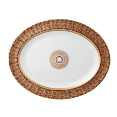 Eventail Oval Platter