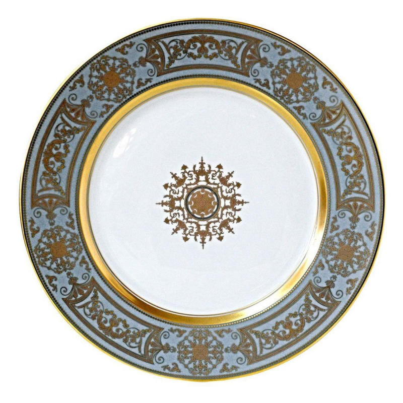 Aux Rois/Flanel Dinner Plate, large