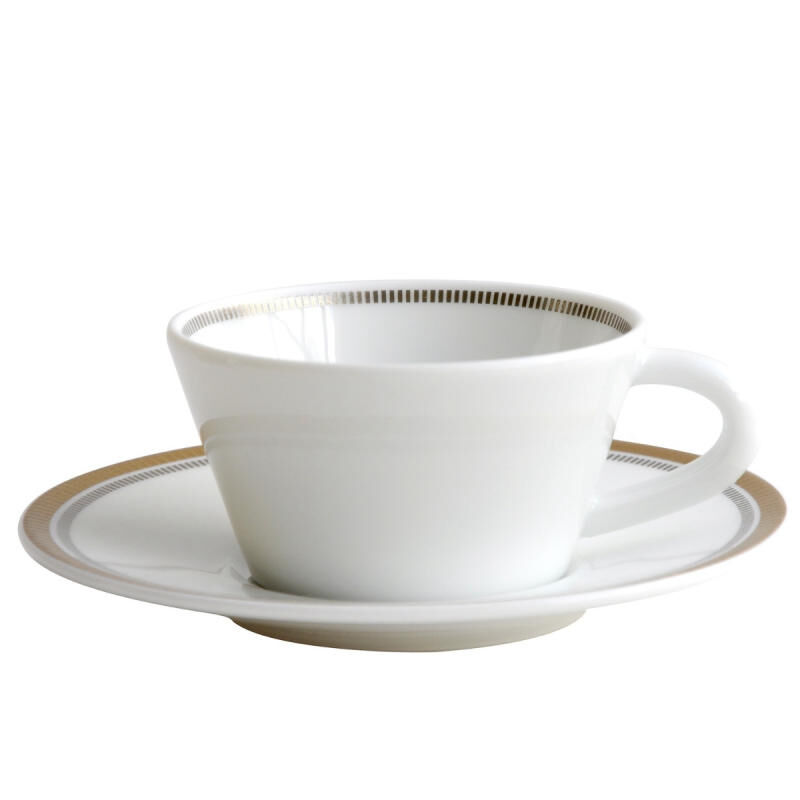 Gage Ad Cup & Saucer, large