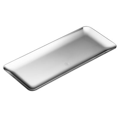 Silver Time Cake Tray