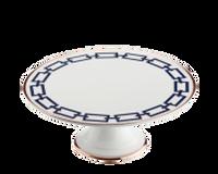 Cake Plate Catene Zaffiro, small