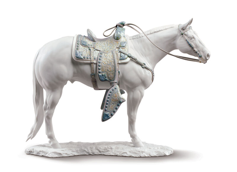 White Quarter Horse, large