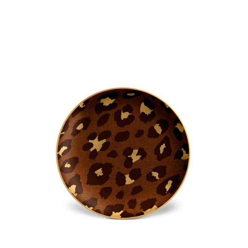 Leopard Small Dish, large