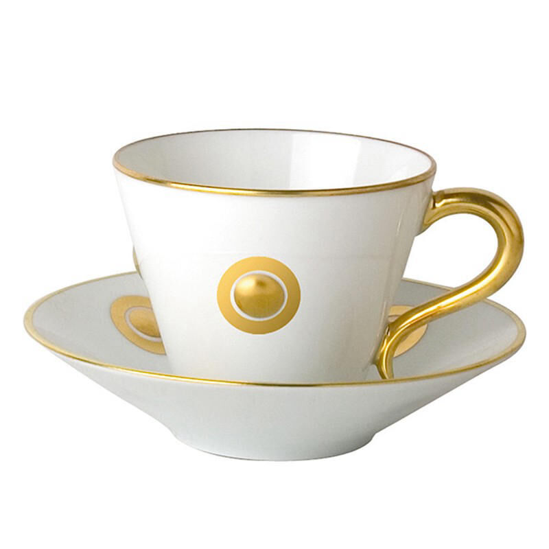 Ithaque Or Gift Box Set Of 6 Cups And Saucers, large