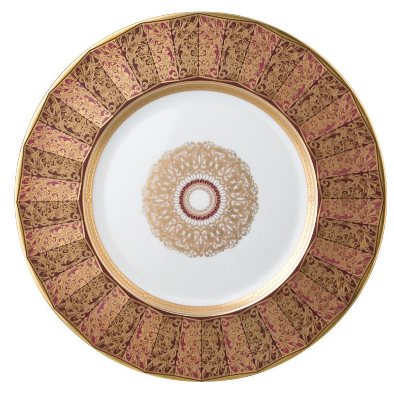 Eventail Large Service Plate, large