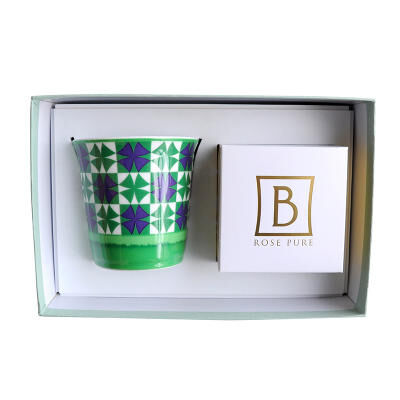 Villa Vert Set Of Candle Tumbler With Candle