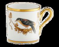 Espresso Cup Volière Cou Jaune, small