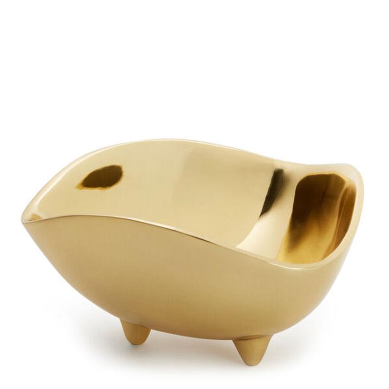 Footed Deco Medium Bowl, large