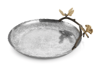 Butterfly Ginkgo Platter, small