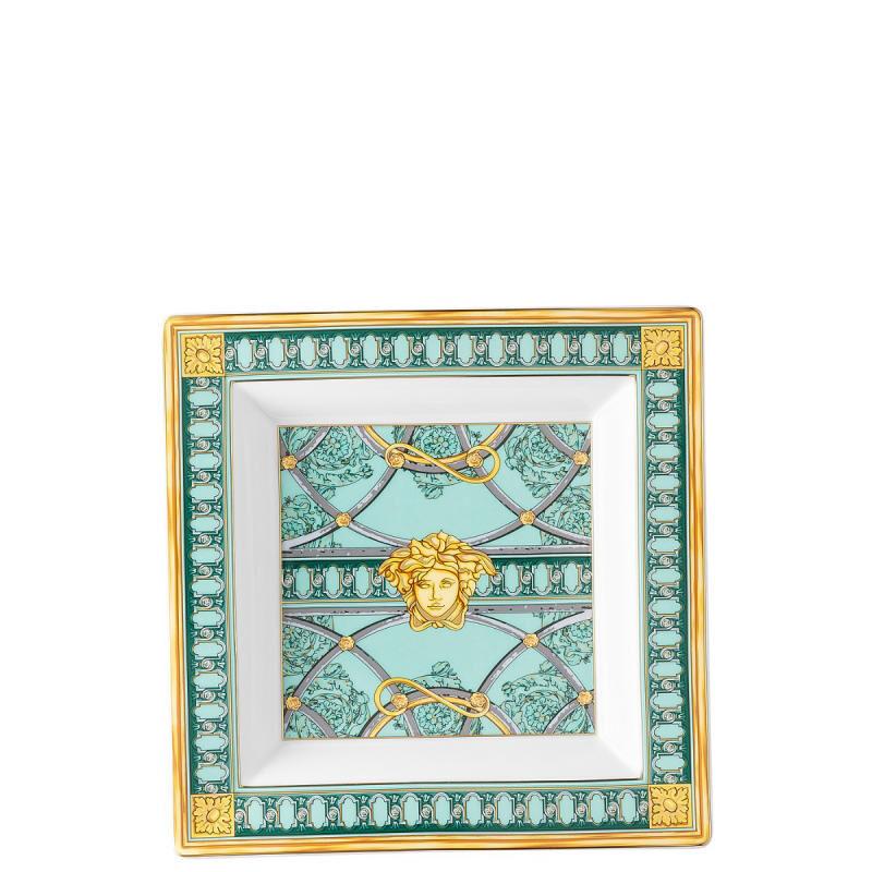 Versace Scala Palazzo Verde Dish, large