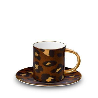 LEOPARD ESPRESSO CUP & SAUCER