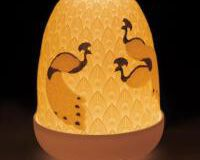 Peacocks Dome Lamp, small