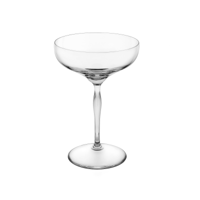 """100 Points"" Champagne Coupe"