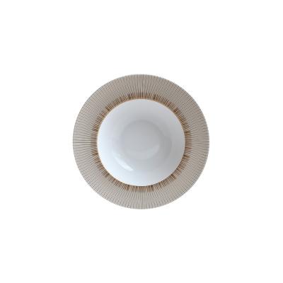 Sol Rim Soup Plate