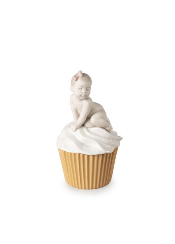 My Sweet Cupcake. Girl Figurine, large