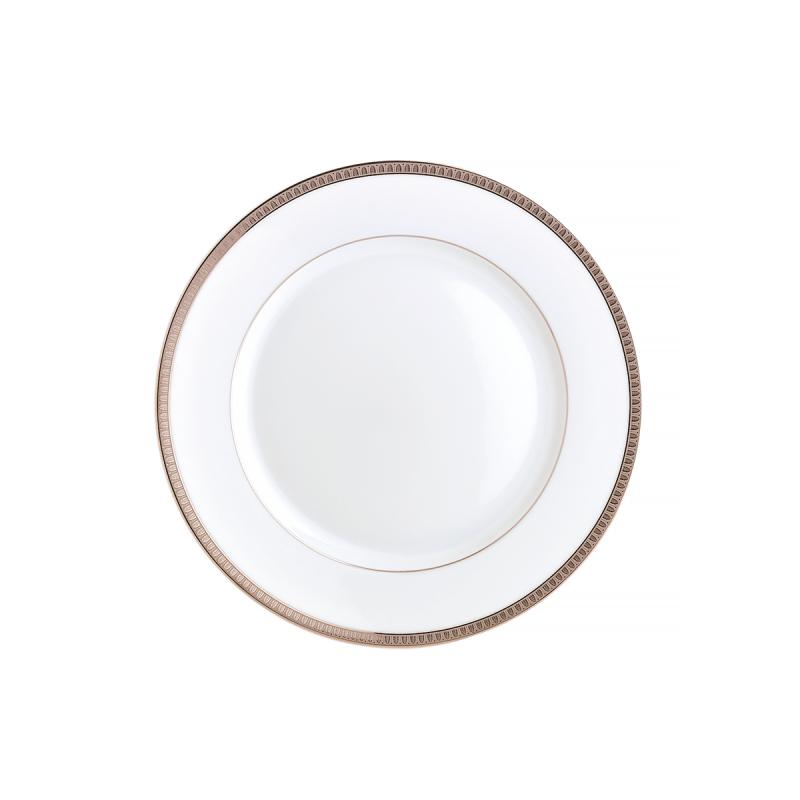 Malmaison Platine Dinner Plate, large
