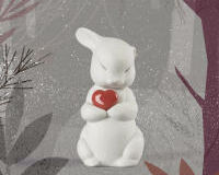 Puffy-Generous Rabbit Figurine, small