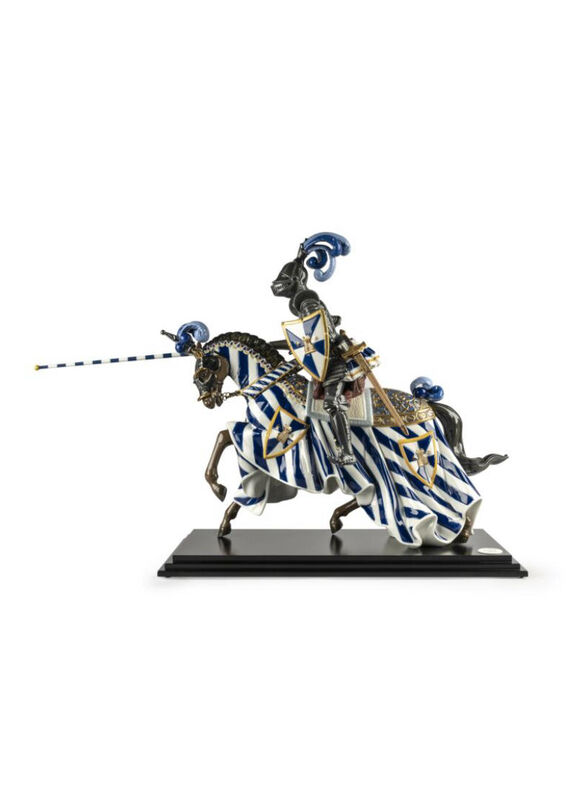 Medieval Knight Sculpture. Limited Edition, large