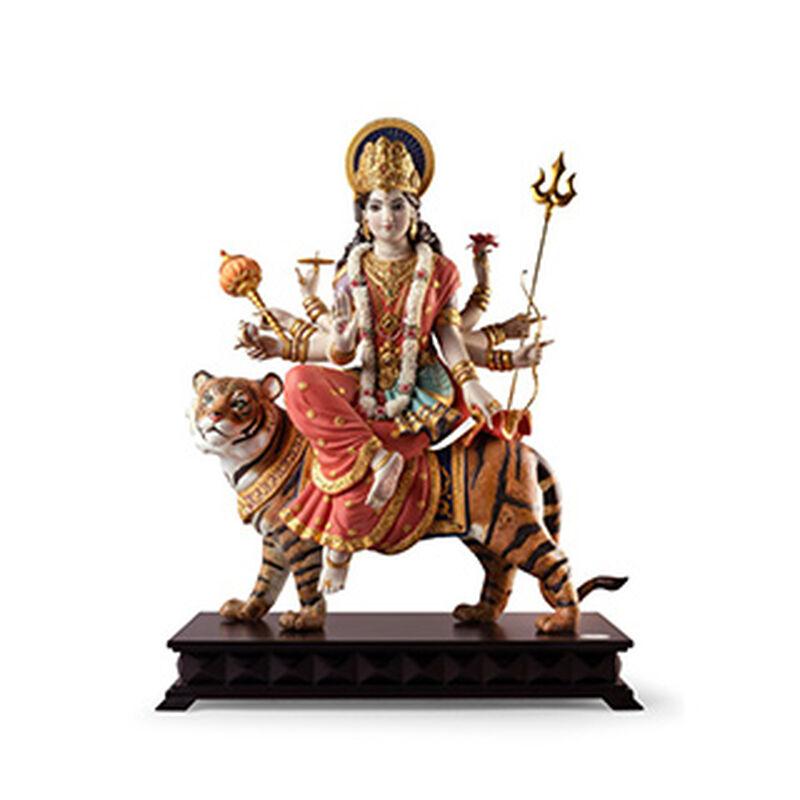Goddess Durga Sculpture Limited Edition, large