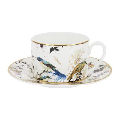Garden Birds Teacup & Saucer