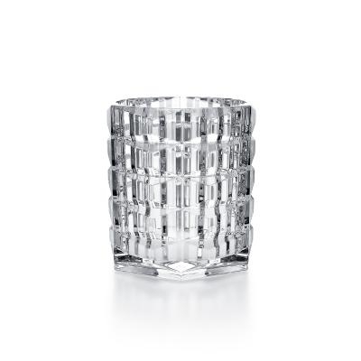 Clear Louxor Candleholder