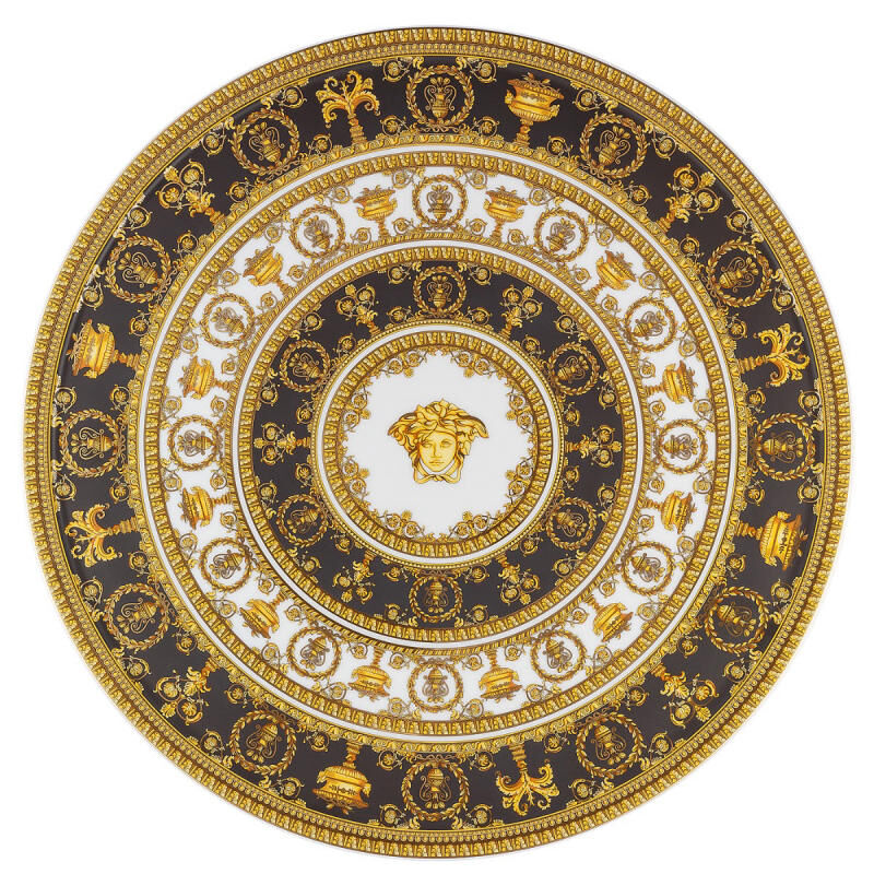 I Love Baroque Cake Stand, large