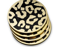 Leopard Coasters Set Of 4, small