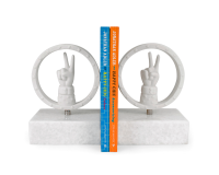 Peace Bookend Set, small