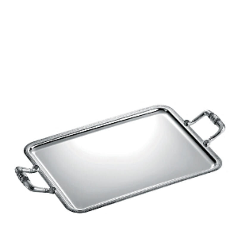 Malmaison Rectangular Serving Tray With Handles, large