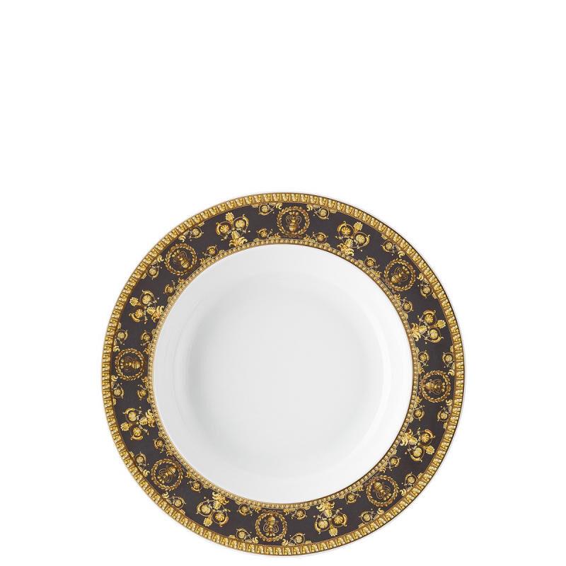 Versace Baroque Nero Deep Plate, large