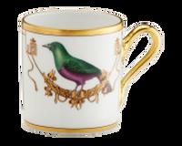 Espresso Cup Volière Mèrle Vert, small