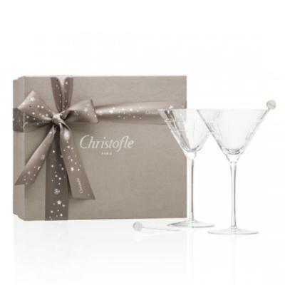 GRAPHIK GLASSES AND COCKTAIL STICKS