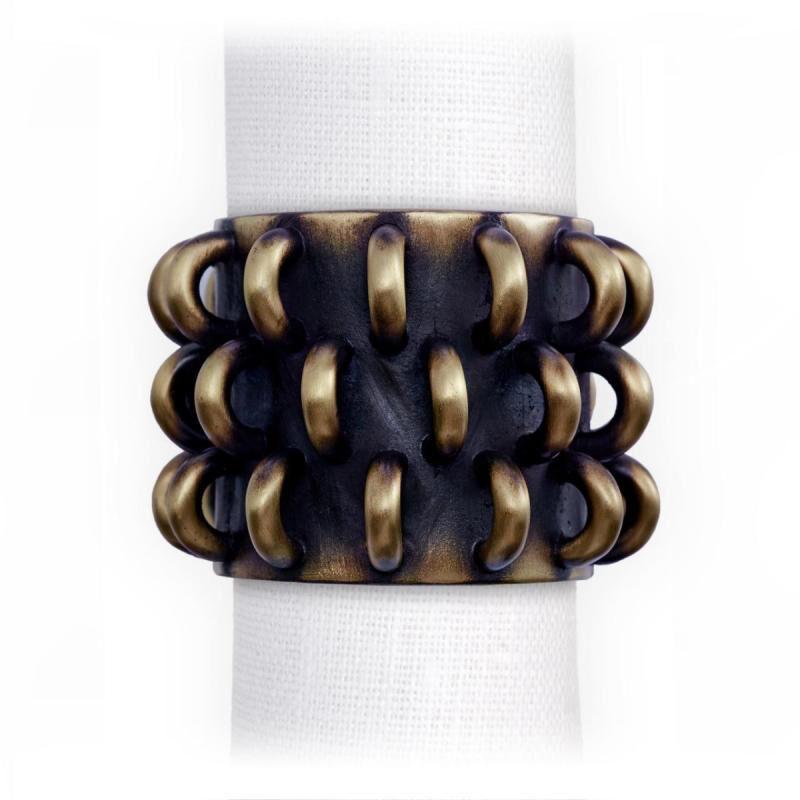 Tulum Rings Napkin Jewels Set Of 4, large