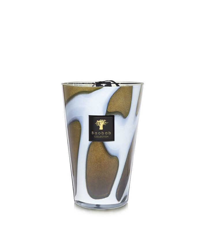 Stones Agate Candle, large