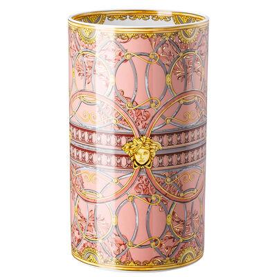 مزهرية وردية درج القصر