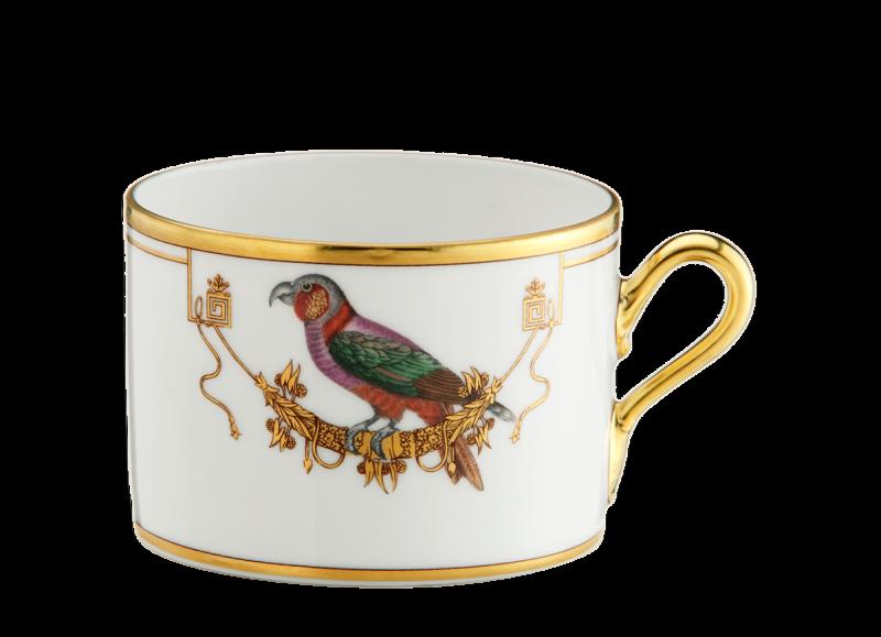Tea Cup Volière Perroquet Nestor, large