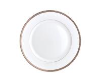 Malmaison Platine Dinner Plate, small