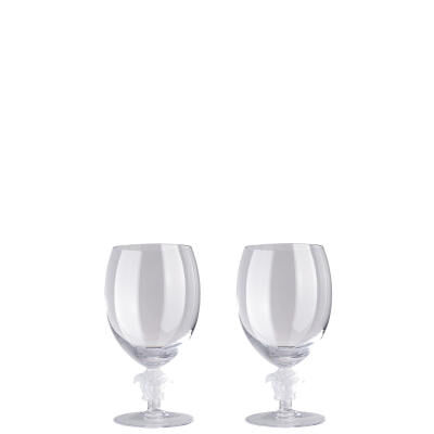 VERSACE MEDUSA LUMIERE RED WINE GLASS SET
