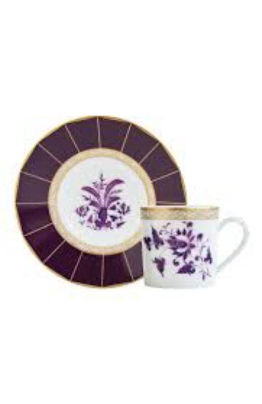 فنجان قهوة وصحن برونس, large